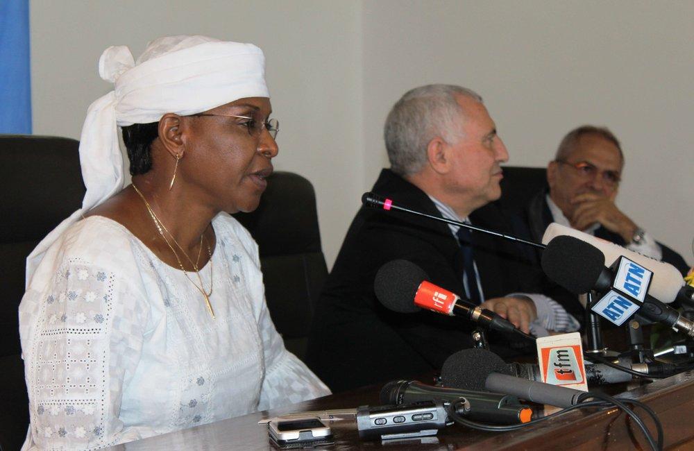SRSG Mindaoudou (UNOCI), SRSG Djinnit (UNOWA), SRSG Ramos-Horta (UNIOGBIS) Dakar, 09 May 2014