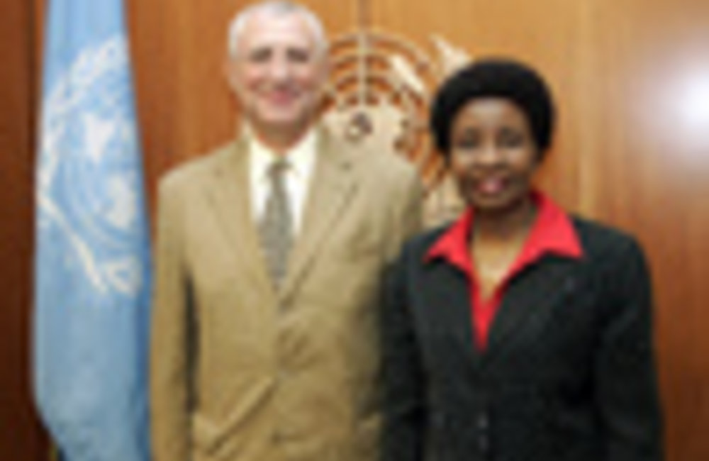 2009-01-20 Deputy Secretary-General Meets Head of UNOWA