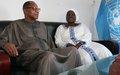 La SG de l'Union du Fleuve Mano et le Chef de l'UNOWA se concertent sur EBOLA