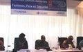 Les femmes font le bilan de la mise en œuvre de la Résolution 1325 en Afrique de l'Ouest