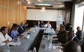 Vingt-huitième réunion  des Chefs de Missions de Paix  en Afrique de l'Ouest