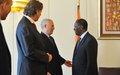 Said Djinnit meets with President Alassane Ouattara (ECOWAS)