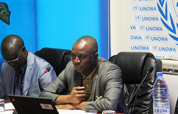 UNOWA a organisé le 26 mars 2015, une session de discussions sur le thème « les Ressources naturelles : un enjeu et un défi sécuritaire, de gouvernance et de droits de l'homme en Afrique de l'Ouest ».